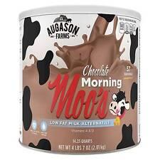 Augason Farms Gluten Free Morning Moos Low Fat Chocolate Milk Alternative - 71oz
