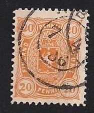 Finland Stamp- Scott # 33/A5-20p-Used/LH-1885