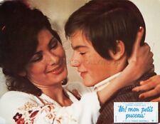 EDWIGE FENECH  AH ! MON PETIT PUCEAU GRAZIE... NONNA 1975 VINTAGE LOBBY CARD #3