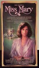 julie christie  MISS MARY      VHS VIDEOTAPE sp mode