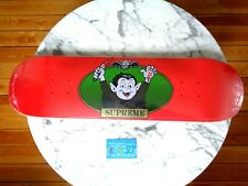 Supreme NYC Vampire boy by sean cliver red Skateboard deck 2021 SS21