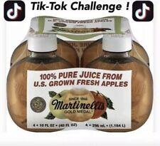 Martinelli's Organic Apple Juice TikTok   Challenge 4pack Free Fast Shipping