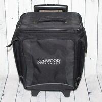 Kenwood CA Winery 6 Bottle Traveler Insulated Rolling Case Wine Carrier Bag Bar