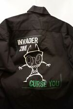Invader Zim Button Front Bowling Uniform Work Shirt ~ Adult Xl ~ Never Worn wTag