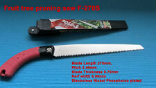 Pruning saw F-270S,Japanese saw,for Forest tree and Fruit tree pruning,Gardening