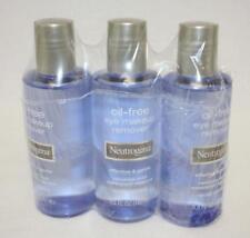 Neutrogena Oil Free Eye Makeup Remover 5.5 Fl Oz 3 Bottles New In Packaging
