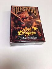 Bicycle Age of Dragons Playing Cards Out of print Sealed