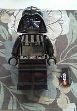 "Star wars 9"" LEGO Darth Vader Mini Action Figure Portable Digital Alarm Clock"
