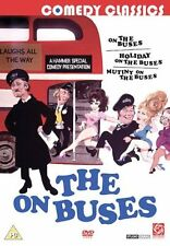 On The Buses + Mutiny On The Buses + Holiday On The Buses Region 2 DVD New