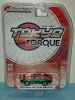 1/64 GREENLIGHT TOKYO TORQUE 1973 BRE DATSUN 240Z GREEN MACHINE CHASE CAR
