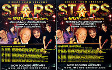 3 STARS OF IRISH COUNTRY FLYERS JOHN HOGAN LOUISE MORRISSEY GLORIA LEE MATTHEWS