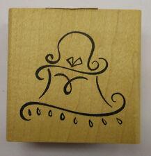 Cartera/Bolso de sello de goma-Denami