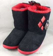 DC Comics Batman Harley Quinn Puddin Womens Slipper Boots Plush Shoes Size S-XL