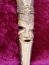 TRIBAL CARVING - LONG FACE - 485mm long