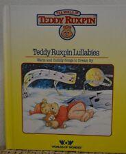 """**Vintage 1980's Teddy Ruxpin Book """"Teddy Ruxpin Lullabies""""**"""