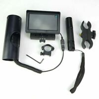Rifle Scope Add on DIY Night Vision Device with IR Torch and LCD Monitor