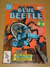 BLUE BEETLE #1 DC COMICS JUNE 1986 ORIGIN RETOLD INTRO FIREFIST SCARCE X