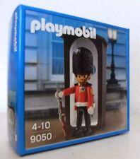PLAYMOBIL 9050 Royal Guard Sonderedition England mit braunem Wachhaus