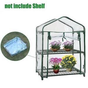 Mini PVC Plastic Garden Yard Balcony Grow Transparent Greenhouse Without Shelf