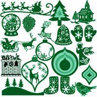 dekor frohe weihnachten karten zu in einer schablone scrapbooking stanzformen