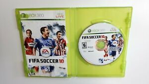 FIFA Soccer 10 Football Video Game Microsoft Xbox 360 Fast Ship !