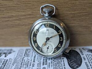Gents Vintage Ingersoll Triumph Subsidiary Bullseye Pocket Watch - Working
