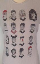 The Many Faces Of Spock Tshirt - Womens M - Tee Fury - Star Trek - Vulcan