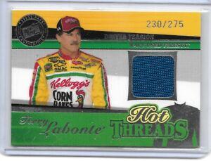 2005 PRESS PASS PREMIUM NASCAR RACING HOT THREADS TERRY LABONTE VERY NICE...
