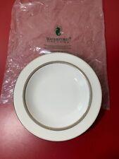 "Waterford Araglin Platinum 9"" Rim Soup Plate"