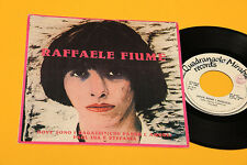 """RAFFAELE FIUME 7"""" DOVE SONO I RAGAZZI CHE FANNO L'AMORE 1°ST ORIG ITALY 1982 EX"""