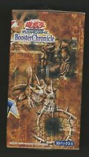 Yu-Gi-Oh Konami Japanese Booster Chronicles Factory Sealed Box