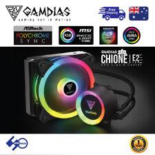 PC CPU Liquid Cooler 120mm Addressable RGB  Gamdias E2-120 LITE