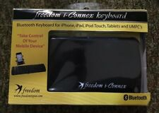 Freedom i-Connex Foldable Folding Bluetooth Keyboard For Ipad Iphone Android