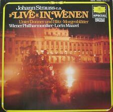 WIENER PHILHARMONIKER - LORIN MAAZEL - LIVE IN WENEN  -  LP