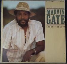 "MARVIN GAYE - SANCTIFIED LADY 12""SG 1985 VINYL CBS BA 12131 OZ PRESSING"