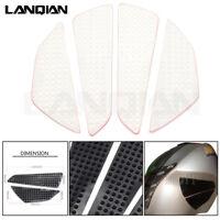 Clear Motorbike Anti Slip Tank Pad Protector Sticker Decal Gas Knee Grip Side 3M
