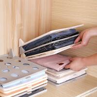 Clothing Storage Board Folding Board Organizer Wardrobe Clothes Arrangemen SE