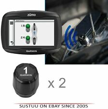 Garmin Tyre Pressure Sensor TPMS x 2│For Zumo 345LM-390LM-395LM-590LM-595LM│New