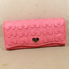 HelloKitty   Hasp Wallet Purse 2017  New Cute Pu Bow  Long Size