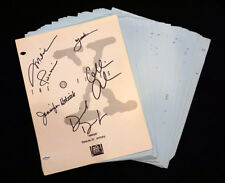 The X-Files Autographed Script – Avatar Scully Mulder Anderson Duchovny Skinner
