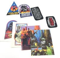Star Wars Fan Club Patch & Decal Lot Of 8 SW ANH ESB ROTJ SWFC Vintage Originals