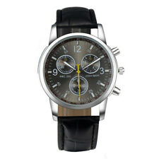 Mens Black Wrist Watch Timepiece Beautiful, Classy & Modern Style!Free shipping!