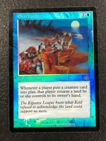 OVERBURDEN Prophecy MTG Magic the Gathering Foil Card