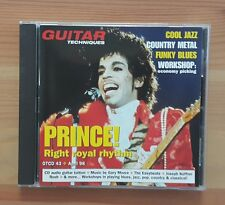 PRINCE right royal rhythem  Guitar techniques