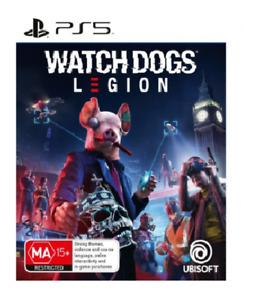 Watch Dogs Legions PlayStation 5 PS5 Brand New Sealed Free Postage