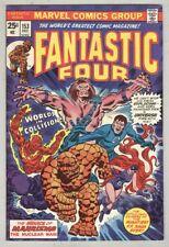 Fantastic Four #153 December 1974 FN Thundra