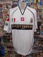 maglia calcio shirt maillot camiseta trikot JUVENTU JUVE DEL PIERO TG XL 2002-03