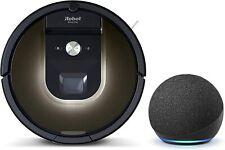 IRobot Roomba 981 Robot Aspiradora con paquete de puntos 4th generación de eco para pelo de mascotas, Alfombra