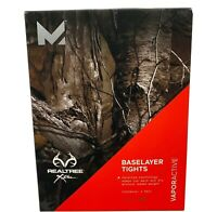 Mission Active Men's Realtree Xtra Baselayer Tights Vapor Active Size M New