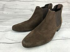 ASOS Brown Tan Suede Chelsea Pull-on Ankle Boots UK 3 US 5